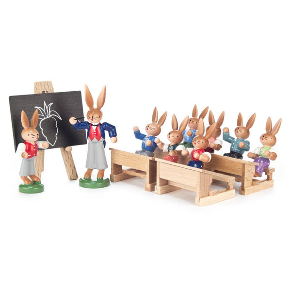 Bunny School / 7 Piece Set