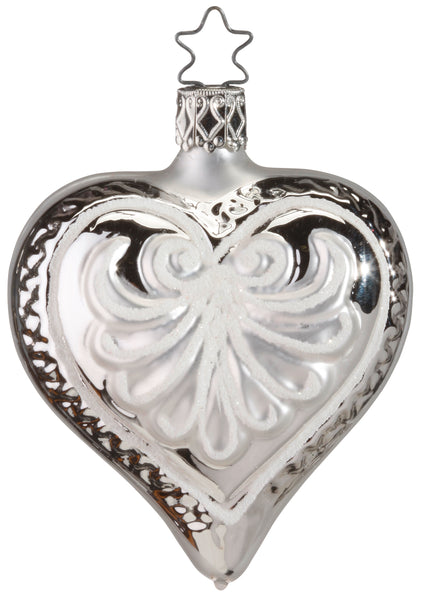 Love Forever - Silver Heart - Old German Treasures Collection