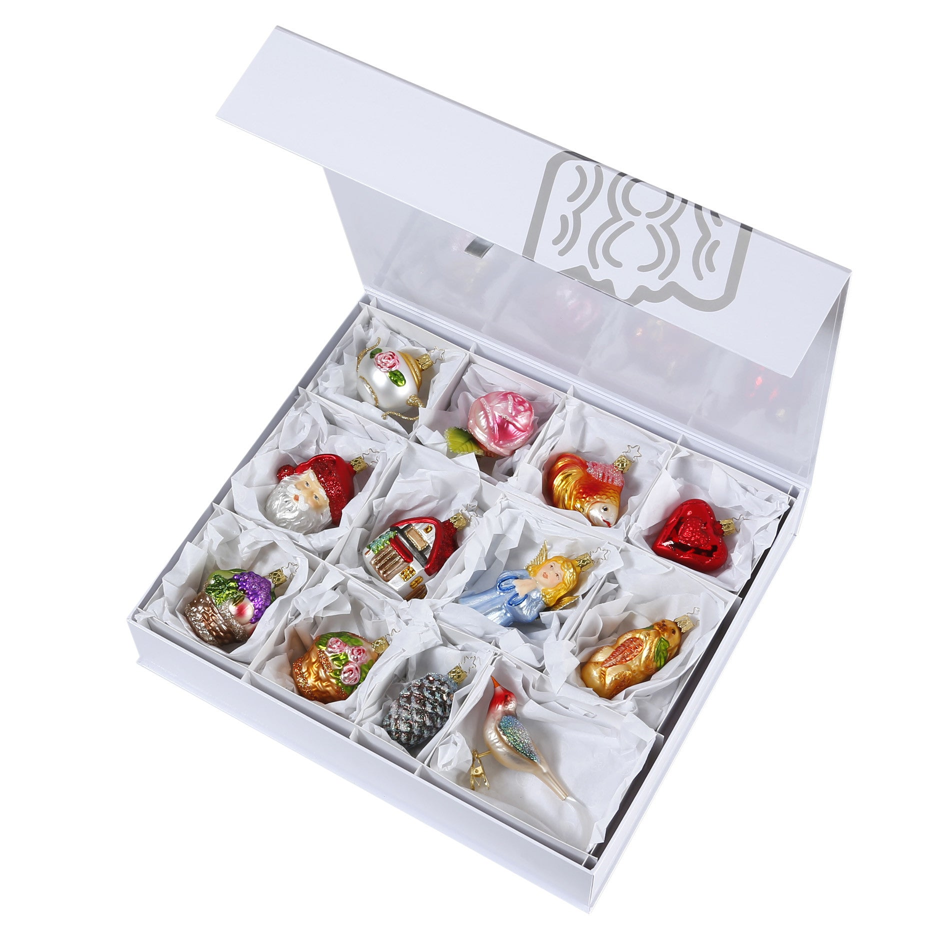 Bridal Collection - Full Size - 12 Ornaments - Presentation Box