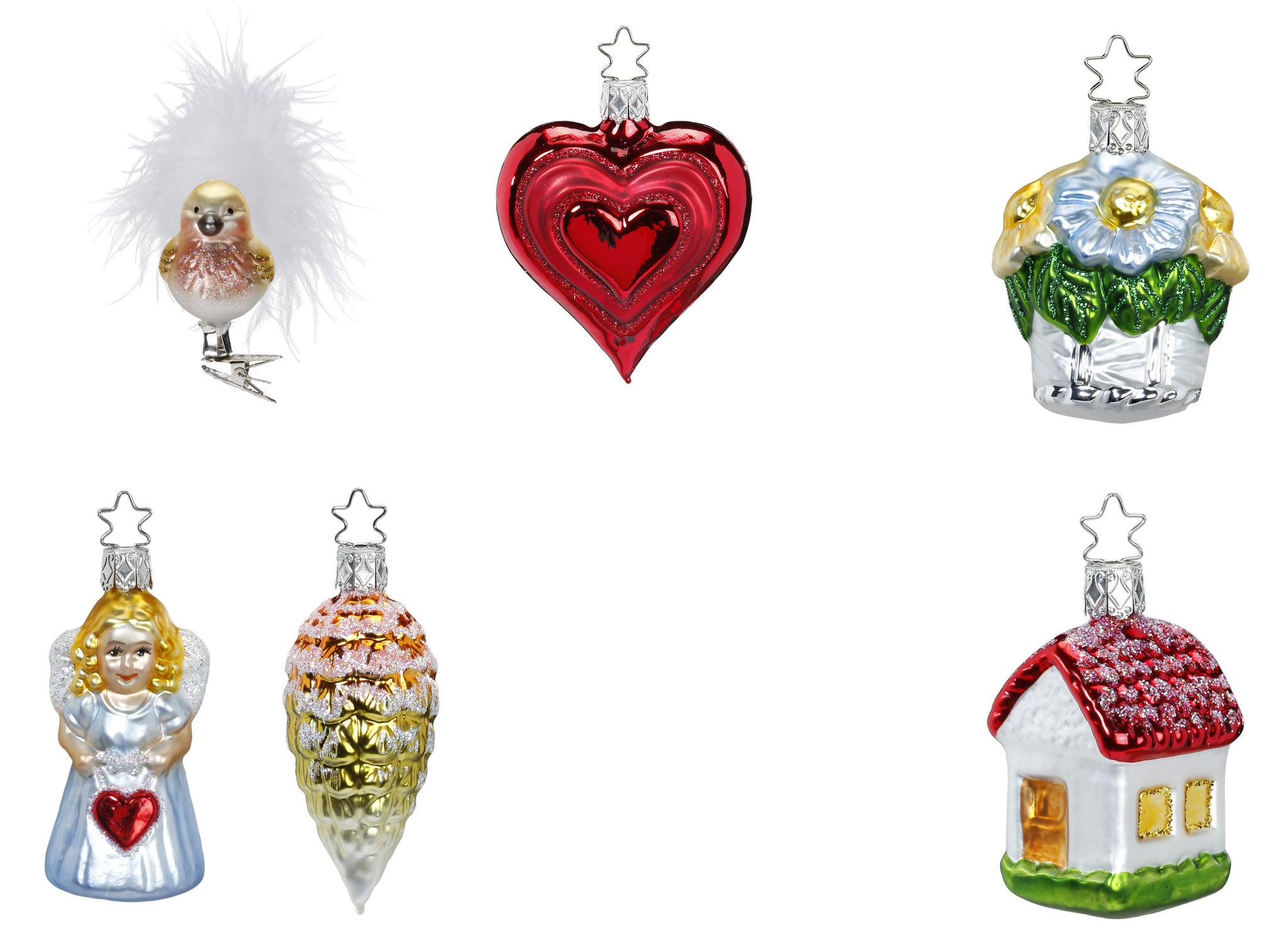Bridal Collection - Full Size - 6 Ornaments - Presentation Box