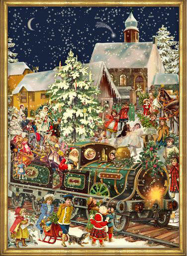Advent Calendar with Christmas Facts – The German Way & More