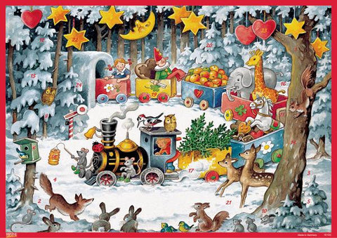 Christmas Train - Advent Calendar
