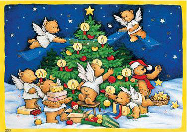 Teddy Bear Angels - Advent Calendar