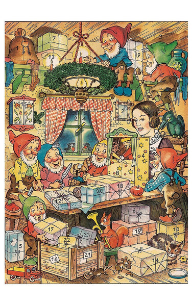 Snow White and the Seven Dwarfs - Advent Calendar
