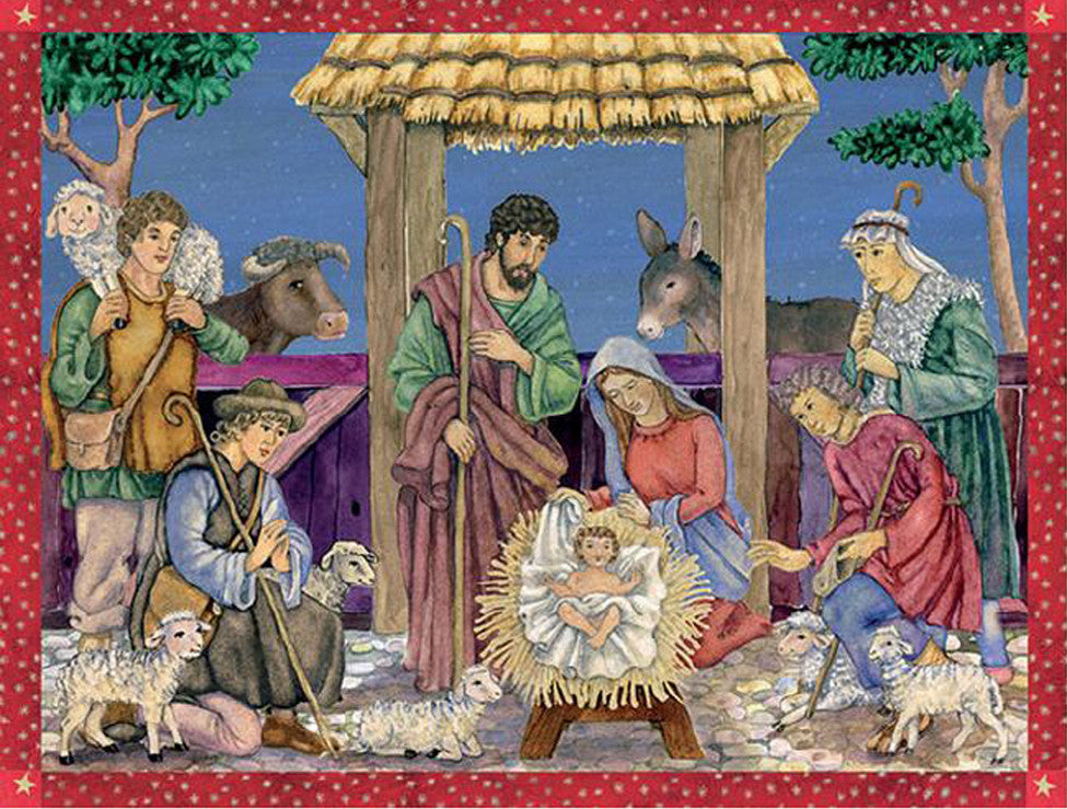 Nativity Scene - Advent Calendar