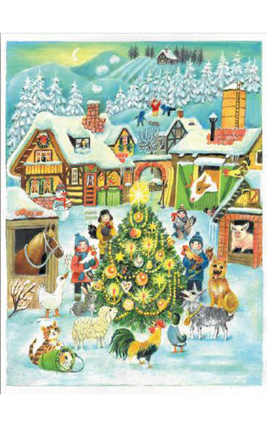 Christmas Farmyard - Advent Calendar