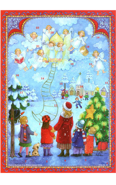 Ladder to Heaven - Advent Calendar GREETING CARD