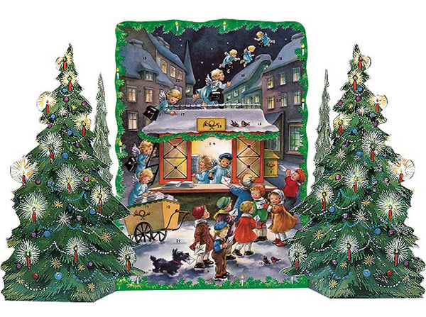 Christmas Mail - Advent Calendar / 3 Dimensional