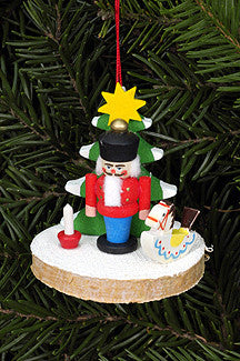 Christmas Tree with Nutcracker - 2""