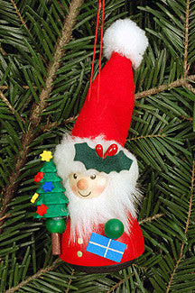 Santa Wobbly Ornament - Wackelmensch Ornament - 5""
