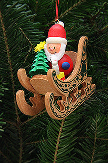 Santa in his Sled - 2-3/4""