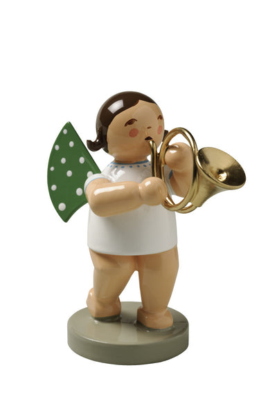 Angel Orchestra Musician with French Horn