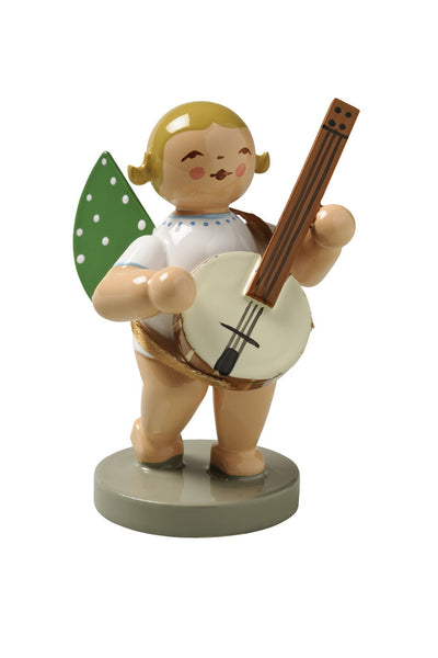Angel Orchestra Musician with Banjo