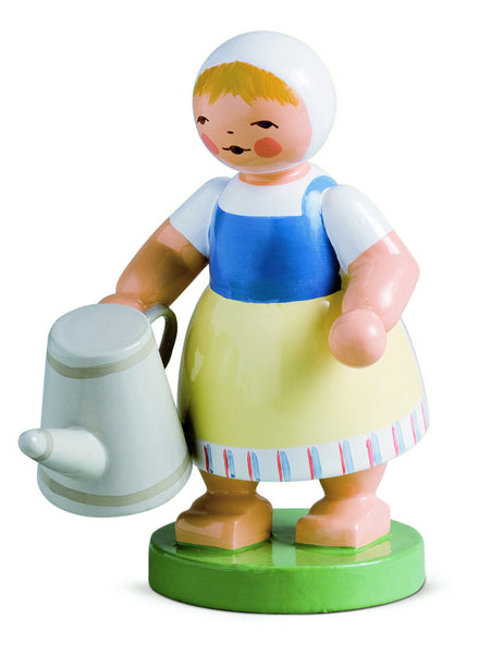 Girl with Watering Can