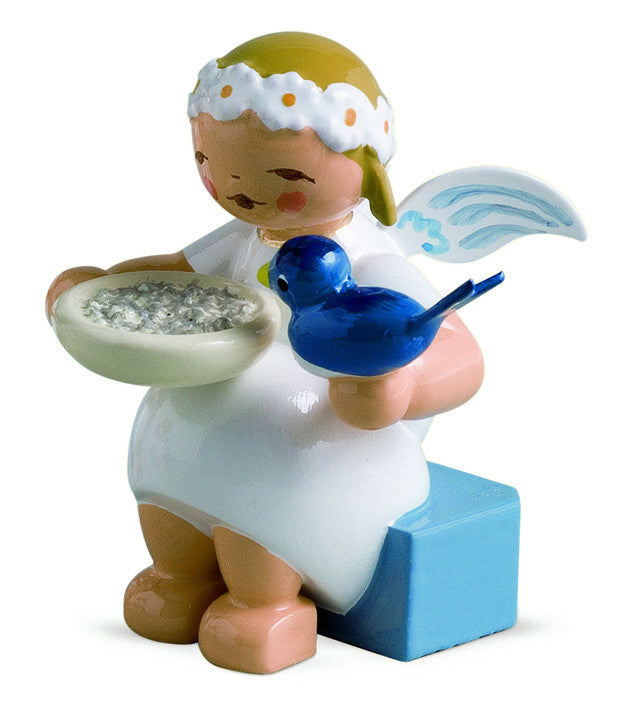 Snowflake - Marguerite Angel with Bird - New 2007