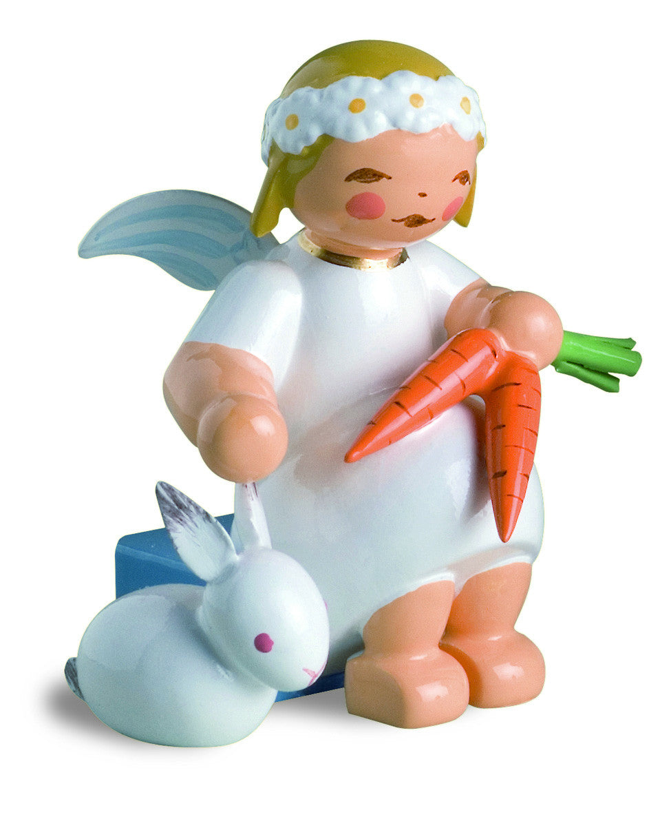 Marguerite Angel with Rabbit and Carrots / Retired 2020