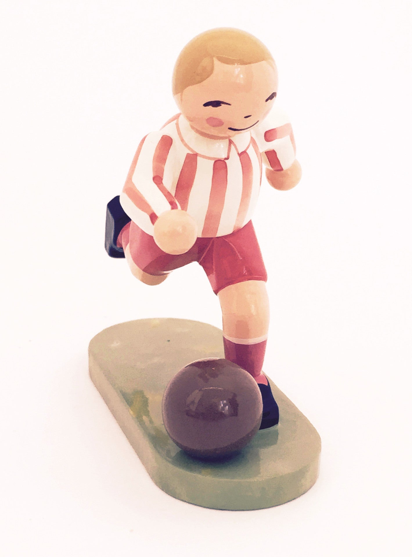 Soccer Player, Red-Striped Shirt - Exclusive for 2006
