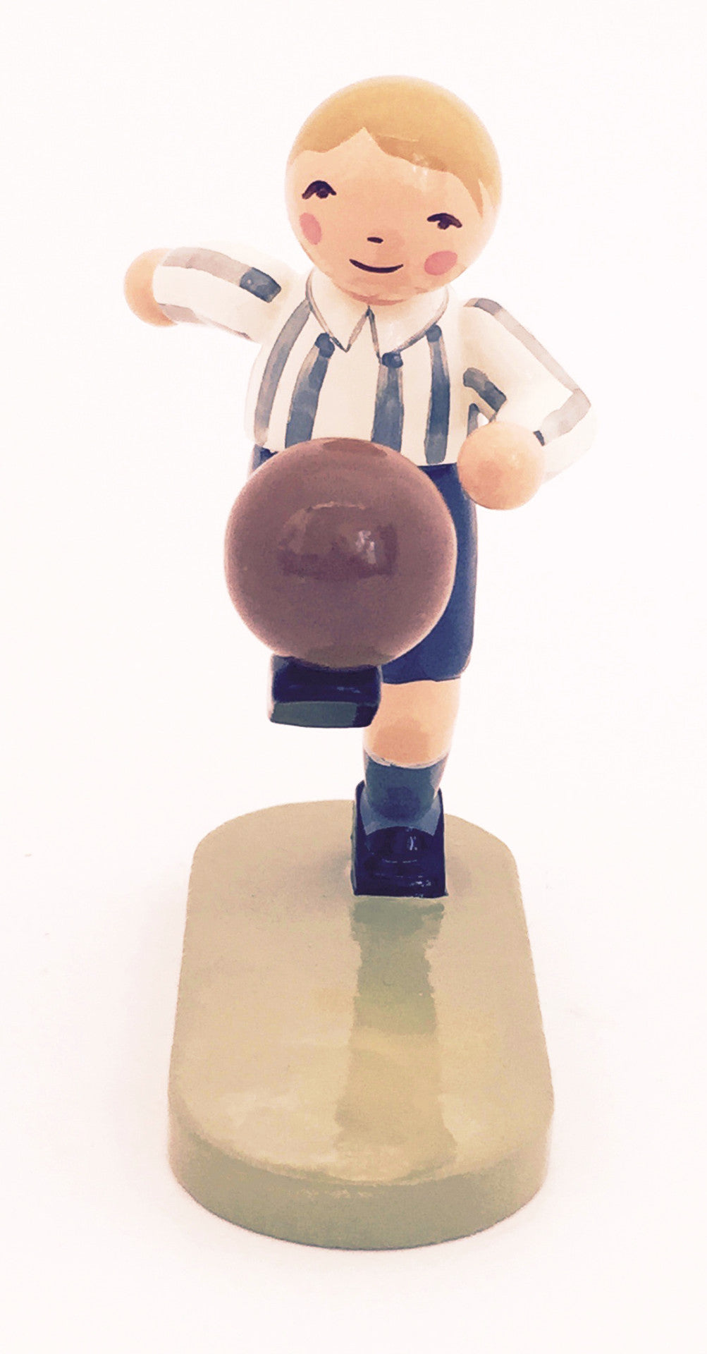 Soccer Player - Blue-Striped Shirt - Exclusive for 2006