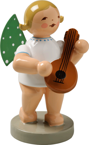 Angel Orchestra Musician with Mandolin