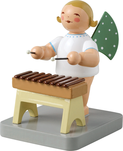 Angel Orchestra Musician with Xylophone