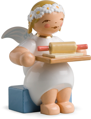 Marguerite Angel with Rolling Pin and Cookie Dough - New 2010