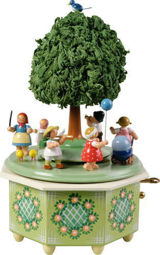 Children's Procession / Wendt and Kühn 36 Note Music Box