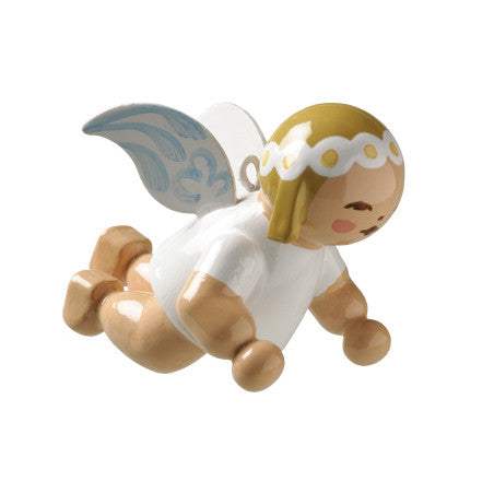 Small Flying Marguerite Angel Ornament - 1""