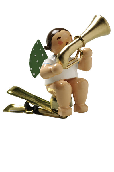 Clip-on Angel with a Tuba