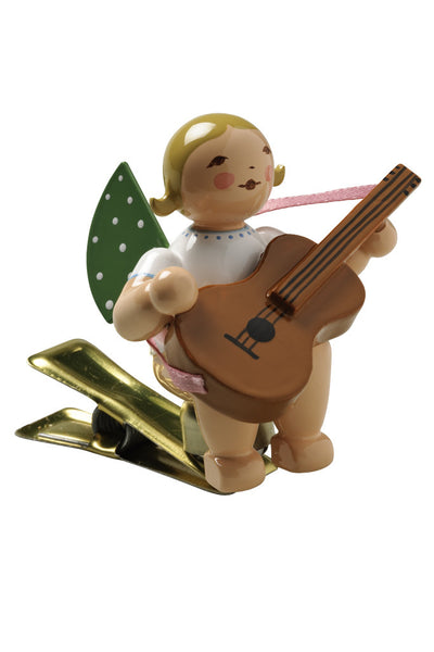 Clip-on Angel with a Guitar
