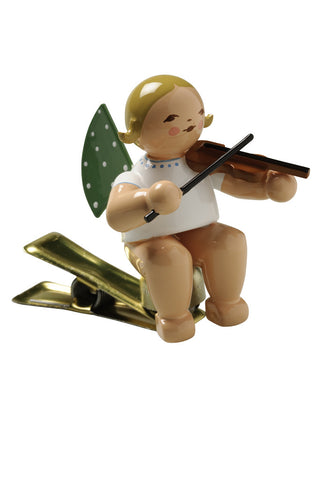 Clip-on Angel with a Violin