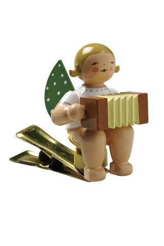 Clip-on Angel with Concertina