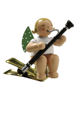 Clip-on Angel with a Bassoon