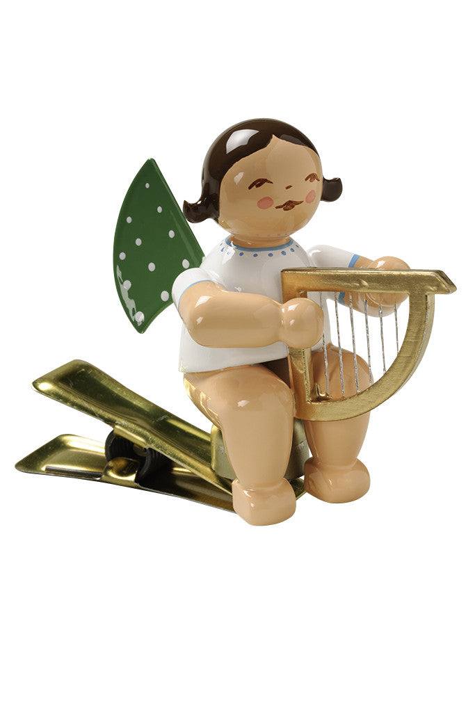 Clip-on Angel with a Harp