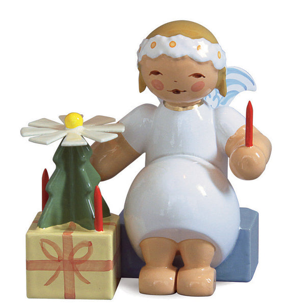 Marguerite Angel with a Christmas Pyramid - New 2012