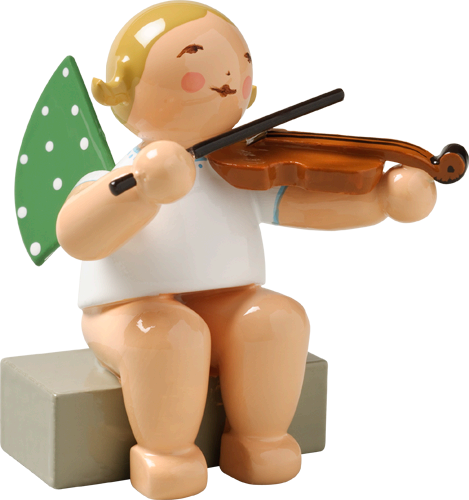 Angel Orchestra Seated Musician with Viola