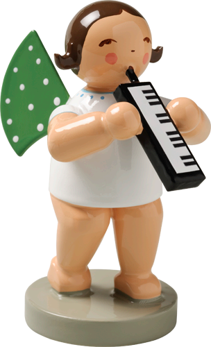 Angel Orchestra Musician with Melodica