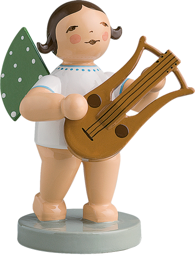 Angel Orchestra Musician with Lyre