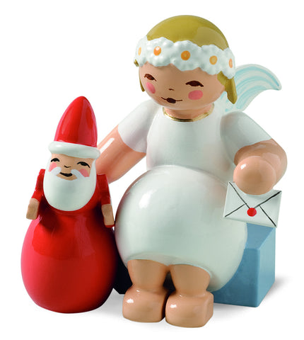 Marguerite Angel with Santa Claus - New 2014