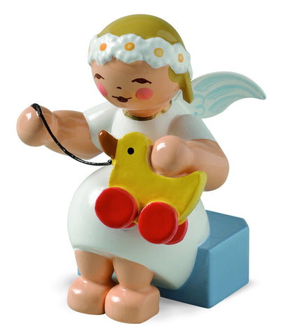 Marguerite Angel with a Toy Duck - New 2014