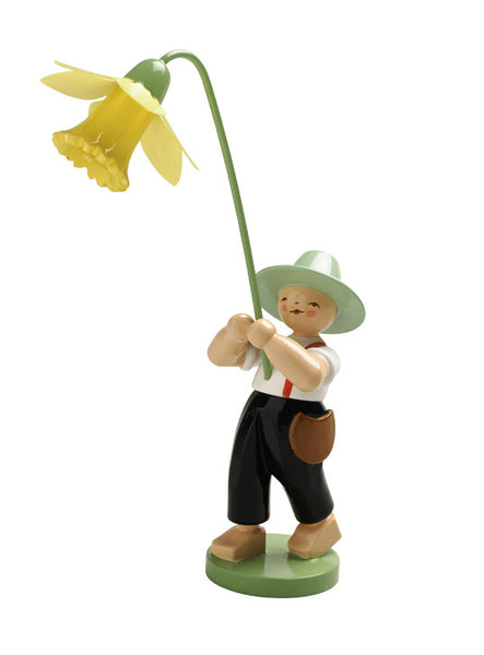 The Boy with a Daffodil