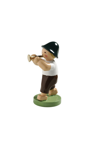 Boy with a Small Trumpet