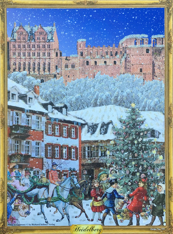 Heidelberg Castle Advent Calendar