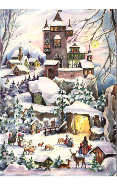 Forest Animals / Castle / Nativity - Advent Calendar