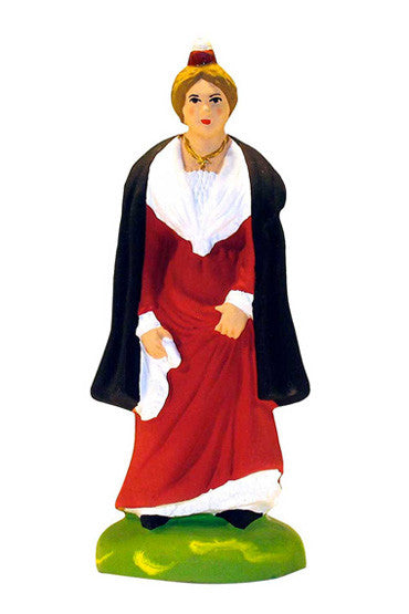 Woman from Arles Wearing Cape - Arlésienne à la cape - Size #3 / Grande