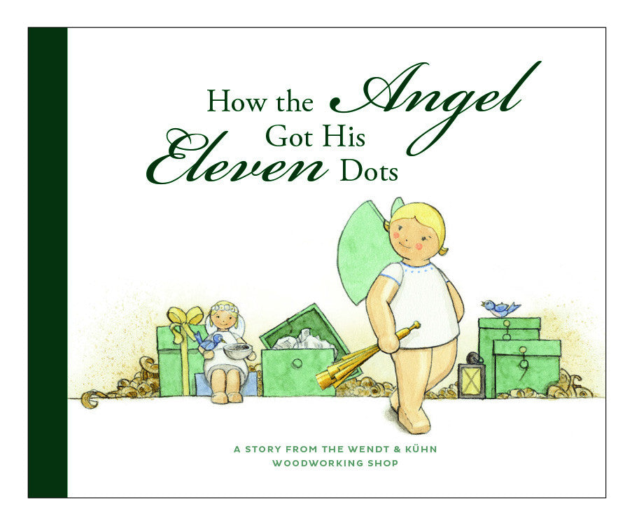"""How the Angel Got Its Eleven Dots"" Book / in English"