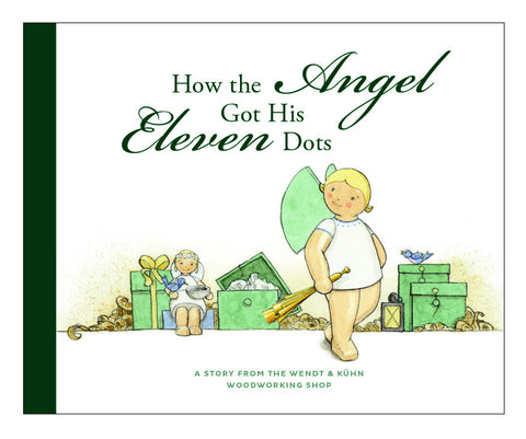 """How the Angel Got Its Eleven Dots"" Book - in English - New 2016"