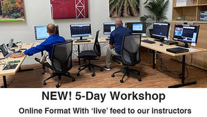 Online 5-Day Workshop: MAY 17-21, 2021 - RIDLEYBOX Owners Only