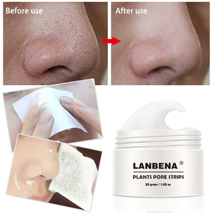 Lanbena Blackhead Remover Nose and Face Mask with Pore Strips