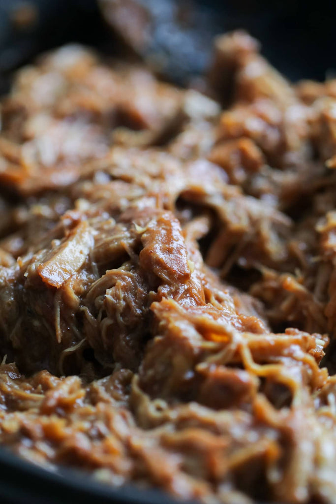 Green Chili Jam Slow cooker Pork, a delicous and easy way to cook pork shoulder or pork butt.