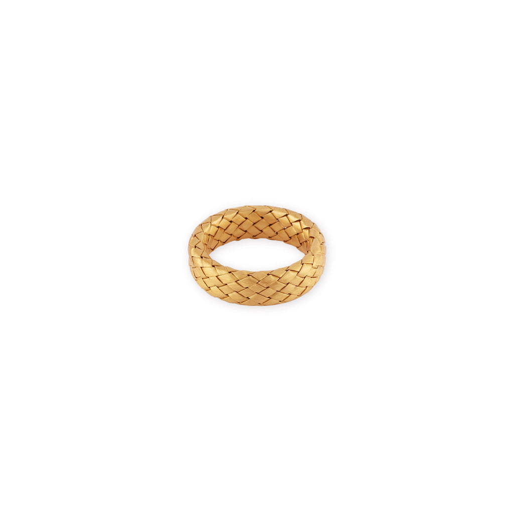 Anello Braid Lucido